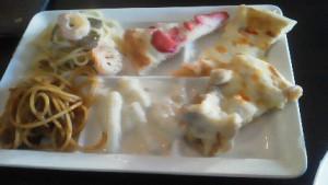 ビュッフェレストラン SHIKI(四季)のパスタとピザ
