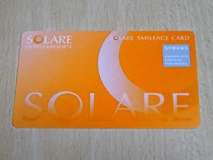 ソラーレ ホテルズ アンド  リゾーツのポイントカード